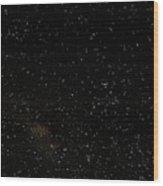 Night Sky Showing Scorpius-centaurus Wood Print