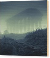 Penshaw Monument At Night Wood Print