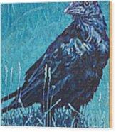 Night Watchman Wood Print