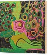 Nightbird Wood Print