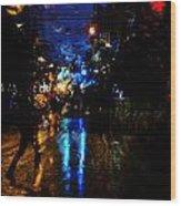 Nights Reflect  Wood Print