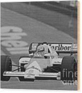 Niki Lauda. 1984 British Grand Prix Wood Print