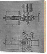 Nikola Tesla's Patent Wood Print