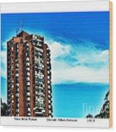Nine Mile Tower Wood Print