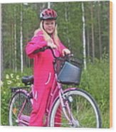 Nine Million Bicycles - Sweden. Wood Print