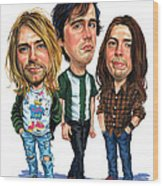 Nirvana Wood Print by Art
