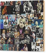 Nirvana Collage Wood Print