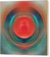 Nirvana - Energy Art By Sharon Cummings Wood Print