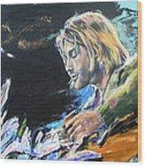 Nirvana - Kurt Cobain Wood Print