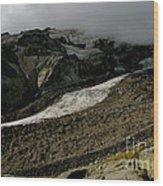 Nisqually Glacier Wood Print