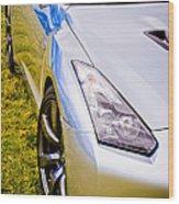 Nissan Gtr 2 Wood Print by Phil 'motography' Clark