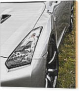 Nissan Gtr Wood Print by Phil 'motography' Clark