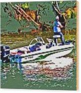 Nitro Bass Boats Wood Print
