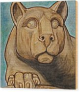 Nittany Lion Wood Print