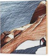 Niu Xvii.  2013  90/51 Cm.  Wood Print by Tautvydas Davainis