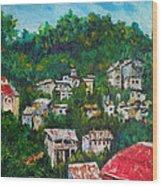 Nivel Hills Cebu Wood Print