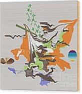 No. 1092 Wood Print