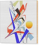 No. 1123 Wood Print
