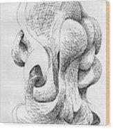 No. 121 Wood Print by Matthew Tubbesing