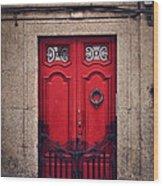 No. 24 - The Red Door Wood Print