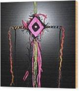 No. 6 Ojo De Dios Or God's Eye Wood Print