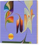 No.  812 Wood Print