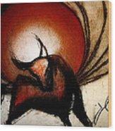 No Bullfights Wood Print