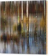 No Egrets II Wood Print
