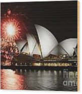 No Its Not New Years Eve Wood Print