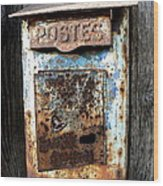 No Mail Today Wood Print by France  Art