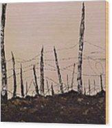 No Mans Land Wood Print