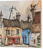 No Parking Bunratty  Clare Wood Print