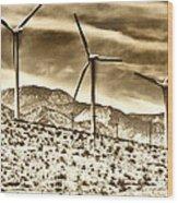 No Place Like Home 3 Palm Springs Wood Print