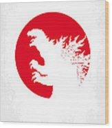 No029-2 My Godzilla 1954 Minimal Movie Poster.jpg Wood Print