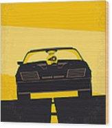 No051 My Mad Max minimal movie poster Wood Print