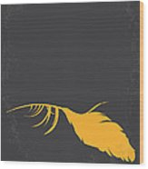 No110 My Birds Movie Poster Wood Print