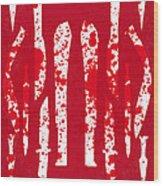 No114 My Machete Minimal Movie Poster Wood Print