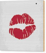No116 My SOME LIKE IT HOT minimal movie poster Wood Print