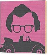 No147 My Annie Hall Minimal Movie Poster Wood Print