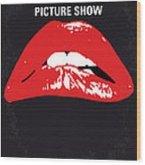 No153 My The Rocky Horror Picture Show minimal movie poster Wood Print