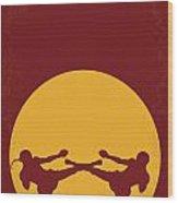 No178 My Kickboxer Minimal Movie Poster Wood Print
