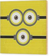 No213 My Despicable Me Minimal Movie Poster Wood Print