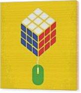 No215 My The Internship Minimal Movie Poster Wood Print by Chungkong Art