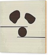 No227 My Kung Fu Panda Minimal Movie Poster Wood Print