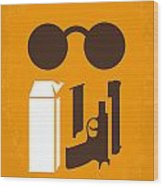 No239 My LEON minimal movie poster Wood Print