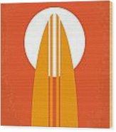 No274 My The Endless Summer Minimal Movie Poster Wood Print by Chungkong Art