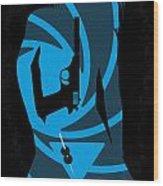 No277-007 My Dr No Minimal Movie Poster Wood Print