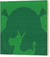 No280 My Shrek Minimal Movie Poster Wood Print