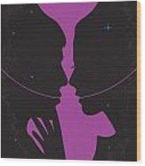 No385 My Solaris Minimal Movie Poster Wood Print