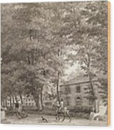 No.3933.f8 View Of The Stables On Lord Wood Print